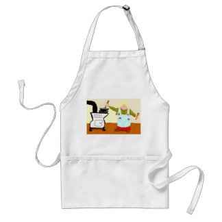 Cooking On A Woodstove Adult Apron