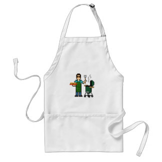 Cooking on the BGE grill Adult Apron