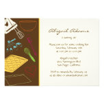 Cooking Party - Birthday Party Invitation Personalized Invite