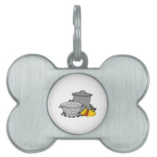 Cooking Pet Name Tags