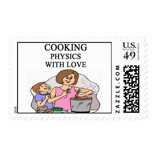 COOKING physics Stamps