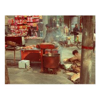 Cooking Postcard