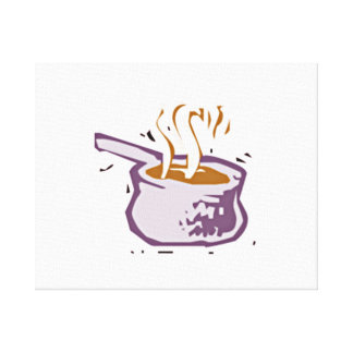 Cooking Pot Gallery Wrap Canvas
