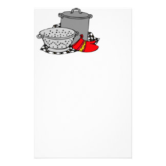 Cooking Pot & Strainer Stationery