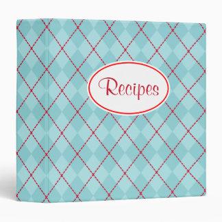 Cooking Recipe Organizer Cookbook Binder Gift