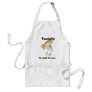 Cooking skull adult apron