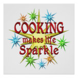 Cooking Sparkles Poster