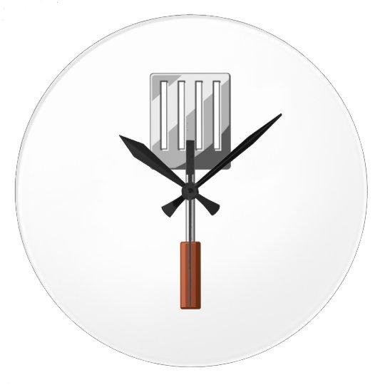 Cooking Spatula Large Clock