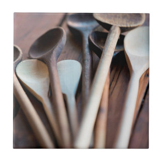 Cooking spoons ceramic tile