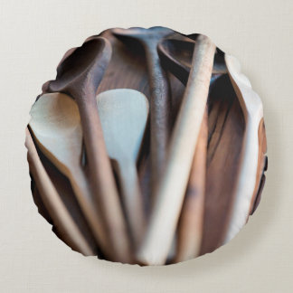 Cooking spoons round pillow