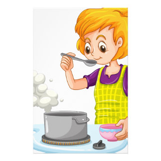Cooking Stationery
