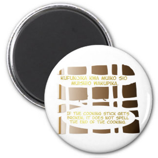 Cooking Stick Series 2 Inch Round Magnet