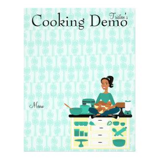 Cooking Teacher Flyer