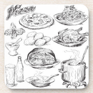 Cooking Time Drink Coaster