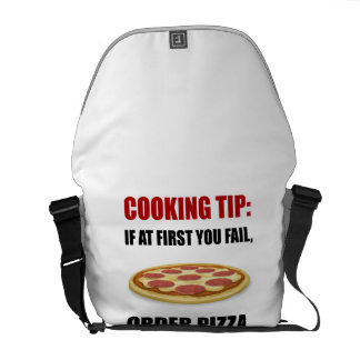 Cooking Tip Pizza Courier Bags