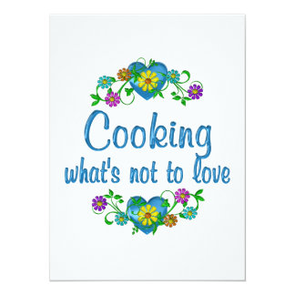 Cooking to Love Personalized Announcements