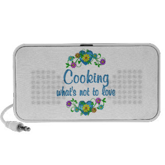 Cooking to Love Travel Speakers