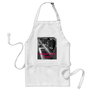 COOKING TO THE OLDIES ADULT APRON