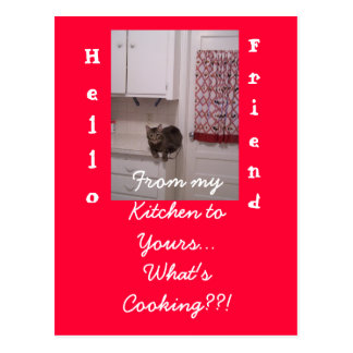 Cooking up Fun Postcard.