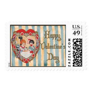 Cooking up Valentine Stamp