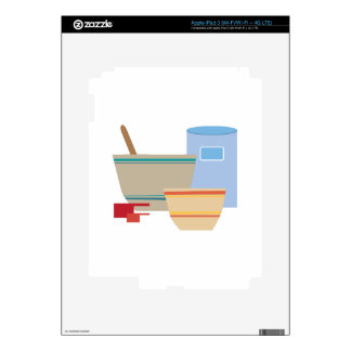 Cooking Utensils Decal For iPad 3