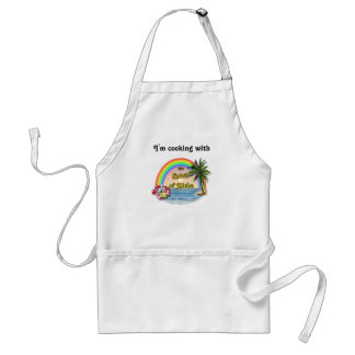Cooking with Aloha Spirit Adult Apron