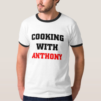 Cooking with Anthony T Shirt