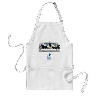 Cooking with HONOR White Aprons