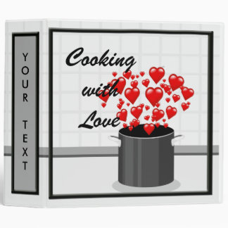 Cooking with Love Recipe Binder