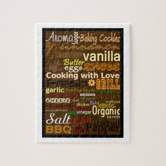 Cooking with Love Word-Art Puzzle