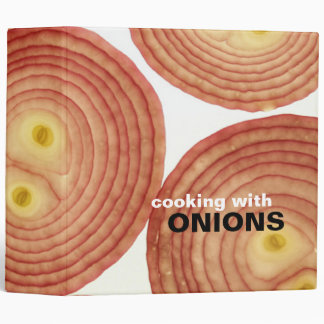 Cooking with Onions Recipe Binder