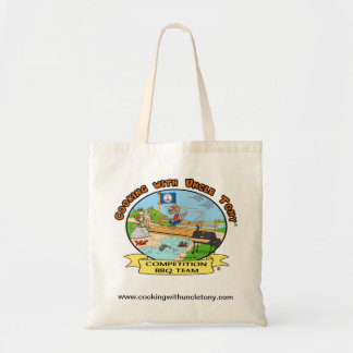 Cooking With Uncle Tony BBQ Tote Canvas Bags