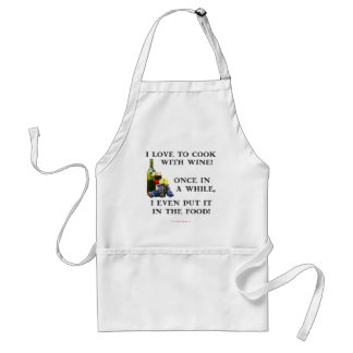 Cooking with Wine Aprons