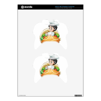 Cooking Xbox 360 Controller Decal