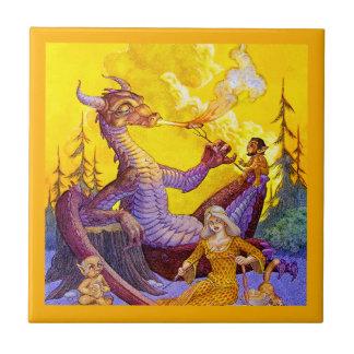 Cookout del dragón azulejo