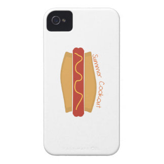 Cookout del verano iPhone 4 Case-Mate protector
