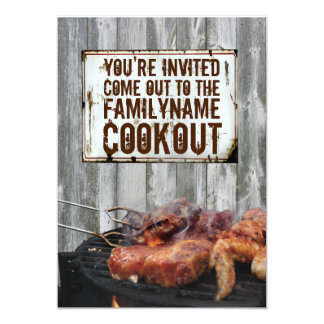 Cookout Invitations