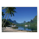 Cook's Bay, Moorea, French Polynesia Greeting Card