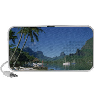 Cook's Bay, Moorea, French Polynesia Notebook Speakers