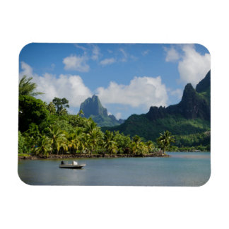 Cook's Bay, Moorea rectangular magnet