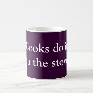 Cooks do it coffee mug