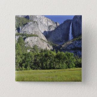 Cook's Meadow and Yosemite Falls, Yosemite Pinback Button