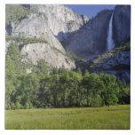 Cook's Meadow and Yosemite Falls, Yosemite Ceramic Tile
