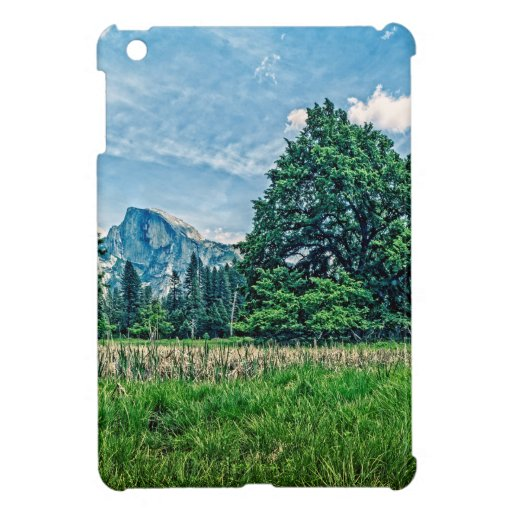 Cook's Meadow View of Half Dome iPad Mini Cases