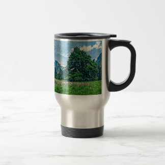 Cook's Meadow View of Half Dome Travel Mug