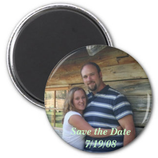 Cookswedding959web2, Save the Date        7/19/08 2 Inch Round Magnet
