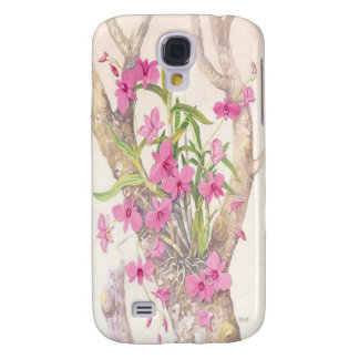Cooktown Orchid Illustration Galaxy S4 Case