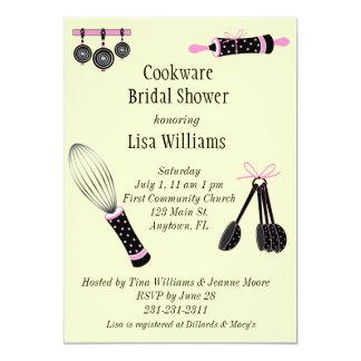 Cookware Bridal Shower Invitation