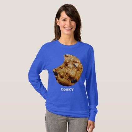 Cooky Blue Long Sleeve T-Shirt