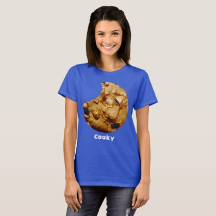 Cooky Blue Short Sleeve T-Shirt